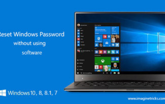 reset windows password using usb