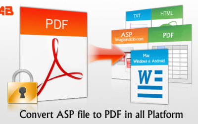 How to convert asp file to pdf in Windows MAC & Android