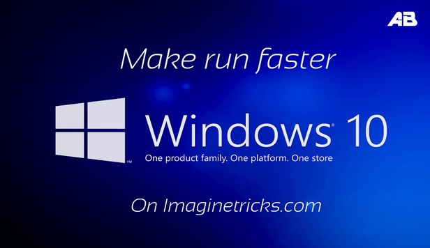 make your PC faster windows 10