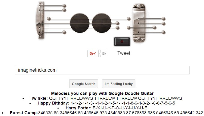 google gravity guitar