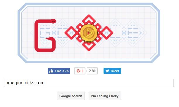 Google Snake Game