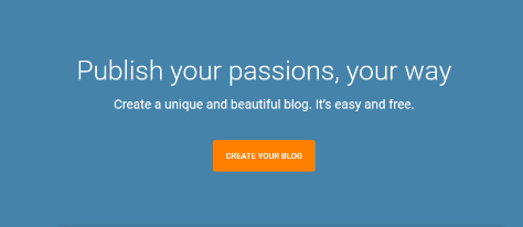how to create free blog on blogspot