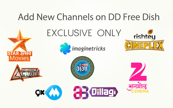 add new channels on dd direct