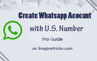 create a whatsapp account with us number