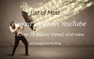 Most Watched YouTube Videos of all Time (Over 12 Billion Views 6/6)