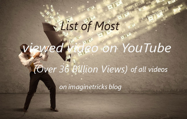 Most Watched YouTube Videos of all Time