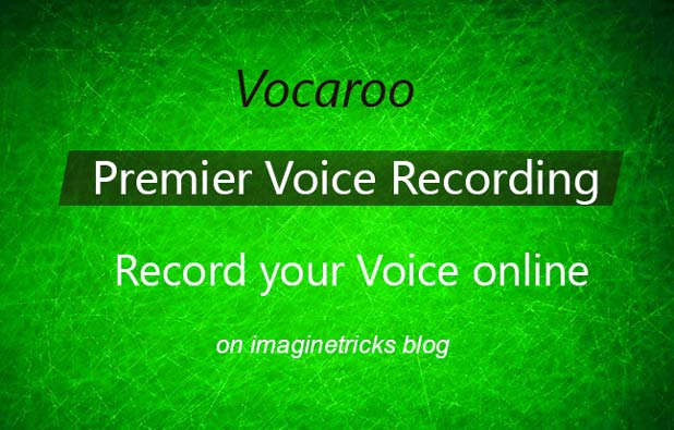 vocaroo voice recorder