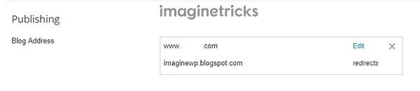 Migrate Blogspot to Custom Domain