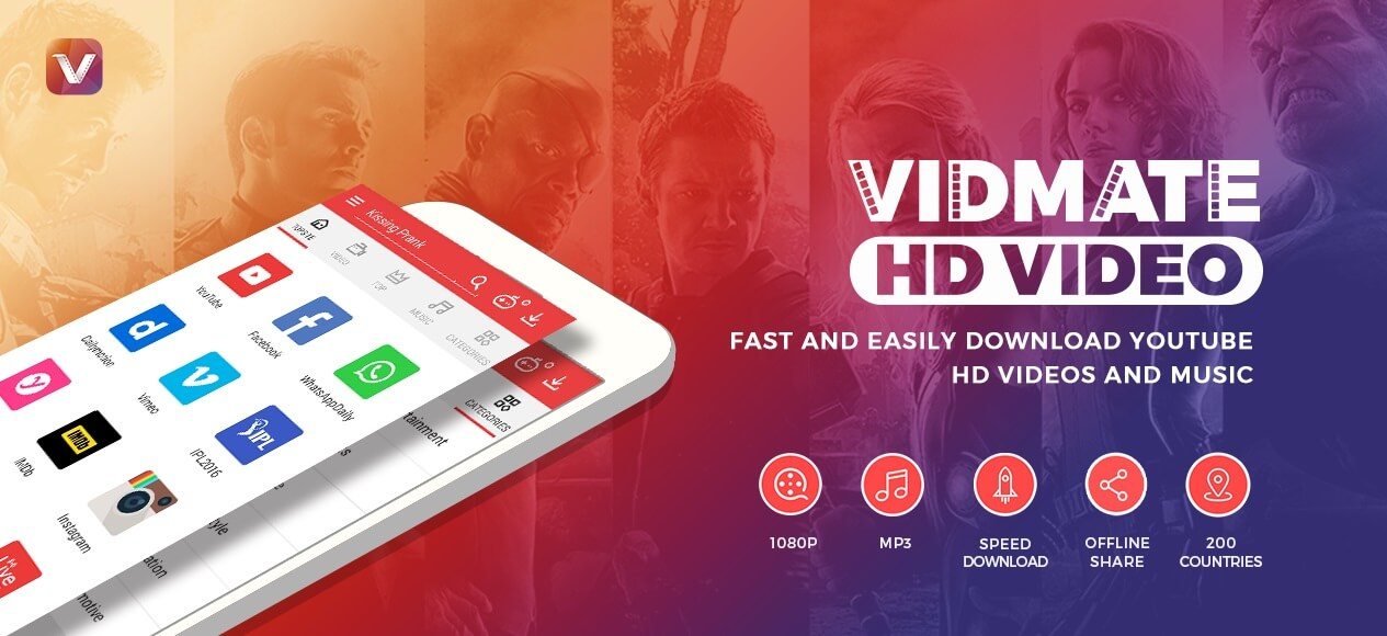 Vidmate Fastest way to download online videos