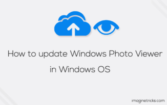 update Windows Photo Viewer