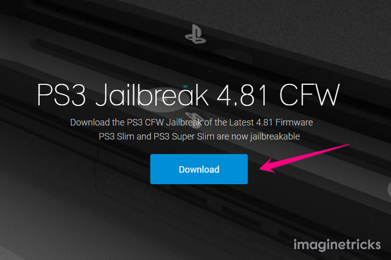 Download Jailbreak 4.81 Firmware for PS3