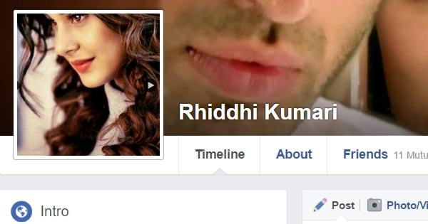 Facebook-Cool Profile DPs