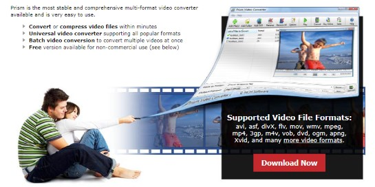 Prism Video Converter by NCH