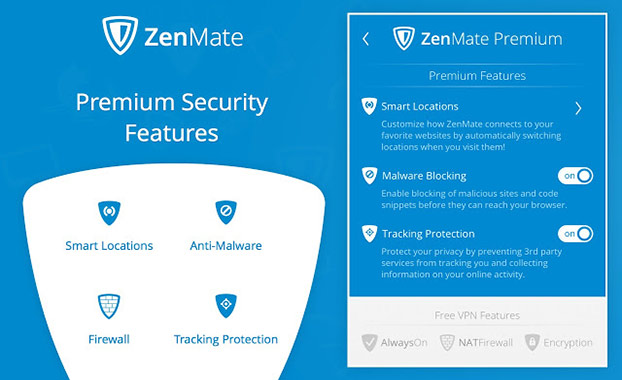 ZenMate VPN - Best Cyber Security & Unblock