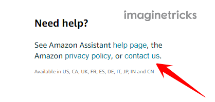 See Amazon Assistant help page