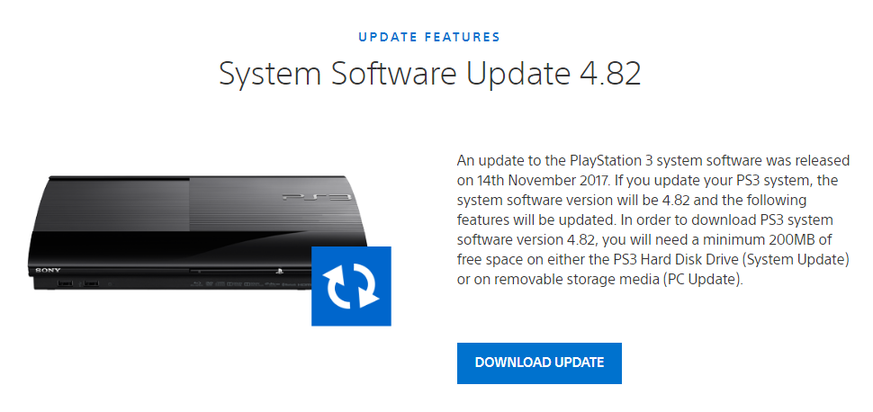 Download PlayStation 3 system software
