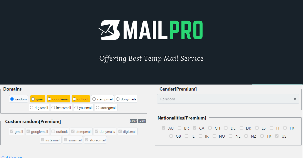 SMAILPRO - Temp Mail Gmail